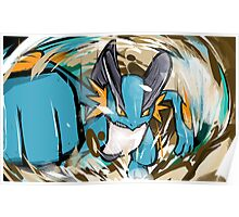 Swampert | Muddy Water Poster