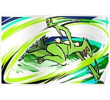 Sceptile | Leaf Blade Poster