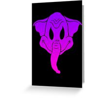 Elephantom (color only) Greeting Card