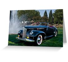 1941 Packard Darrin Model 180 I Greeting Card