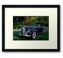 1941 Packard Darrin Model I80 II Framed Print