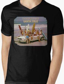 Endless Summer in Santa Cruz Mens V-Neck T-Shirt