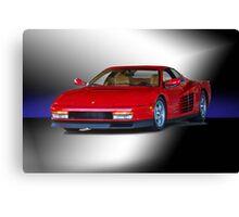 1987 Ferrari Testarossa Canvas Print