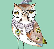 Art Print ''Fancy Owl'' by artollo