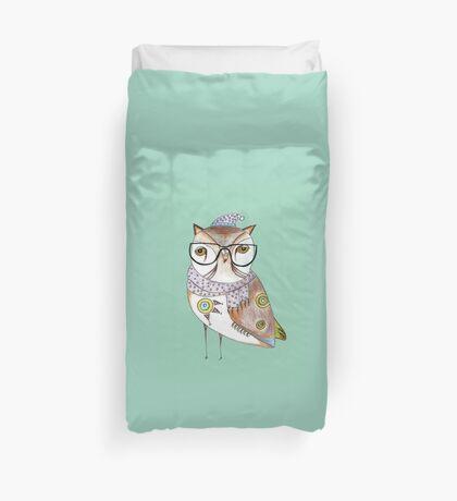 Art Print ''Fancy Owl'' Duvet Cover