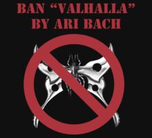 Ban Valhalla (Shirts, Stickers & White Tote Bag) by banvalhalla