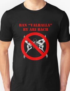 Ban Valhalla (Shirts, Stickers & White Tote Bag) T-Shirt