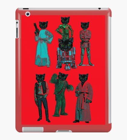 catsolo and crew iPad Case/Skin