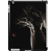 The Blood Moon And The Boab Tree iPad Case/Skin