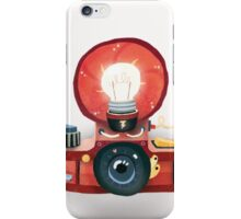 Bulb flash iPhone Case/Skin
