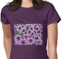 Purple Fanfare Womens Fitted T-Shirt