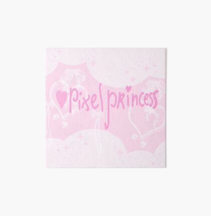 Pixel Princess  Art Board