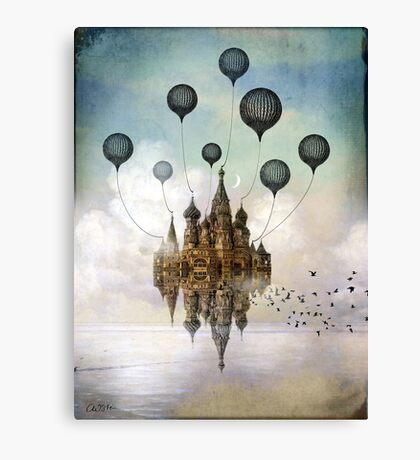 Journey to the East Canvas Print