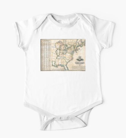 United States-Telegraph stations-1853 One Piece - Short Sleeve