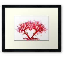 Heart of a Tree Framed Print