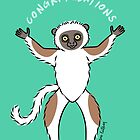 Lemur of Congratulations  by zoel