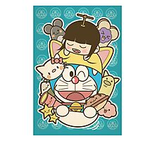 DORAEMON AND FRIENDS Photographic Print