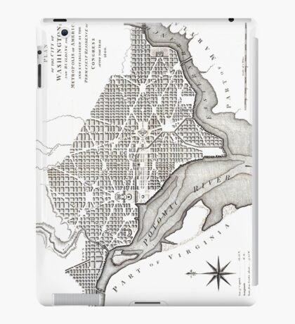 Washington-Washington DC-1800 iPad Case/Skin