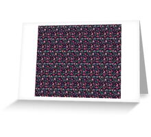 Ethnic indian floral ornament Greeting Card