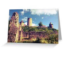 The Nürburg Castle Greeting Card