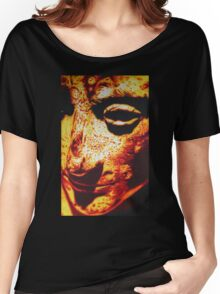 ROMAN EMPEROR AUGUSTUS IN SHARPIE MARKER Women's Relaxed Fit T-Shirt