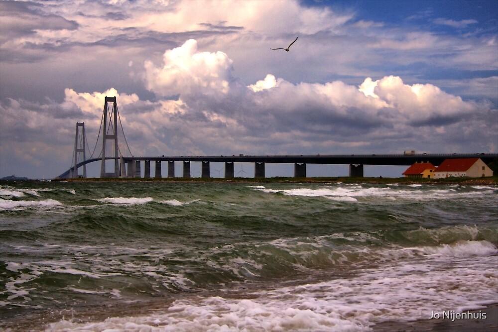The Great Belt Bridge by Jo Nijenhuis