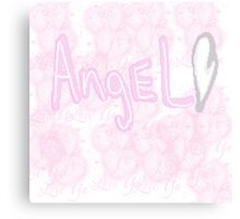 Pixel Angel Canvas Print