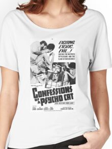Confessions of a Psycho Cat Women's Relaxed Fit T-Shirt