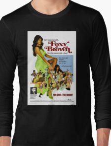Foxy Brown (Blue) Long Sleeve T-Shirt