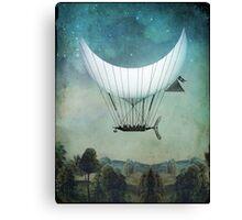The Moon Ship Canvas Print