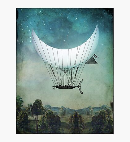 The Moon Ship Photographic Print