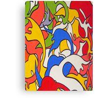 HAPPY (Graffiti) Canvas Print
