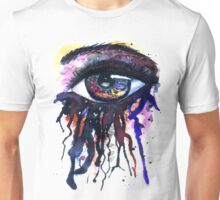 Colorful Watercolor Eye Unisex T-Shirt