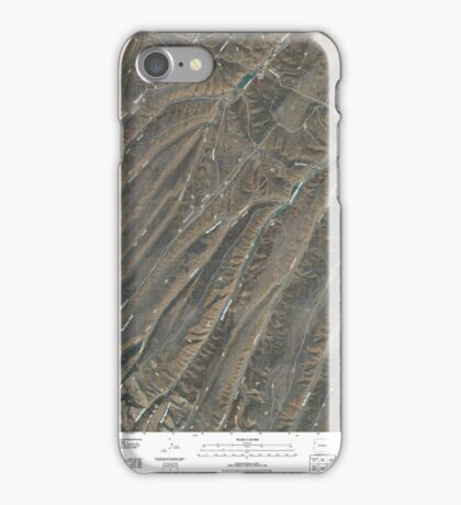 USGS TOPO Map Colorado CO Yankee Gulch 20100901 TM iPhone Case/Skin