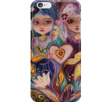 The Fairies of Zodiac series - Gemini iPhone Case/Skin
