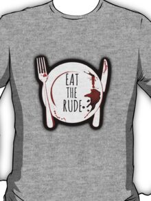 Eat the Rude - Hannibal Lecter T-Shirt