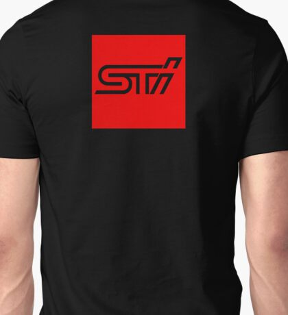 STI Box Back  Unisex T-Shirt