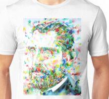 VAN GOGH - watercolor portrait Unisex T-Shirt