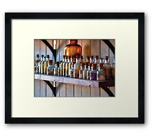 Chemist - Magical Ingredients Framed Print