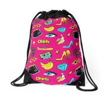 Back to 90s Drawstring Bag