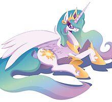 Princess Celestia - Lay down by RarieDash