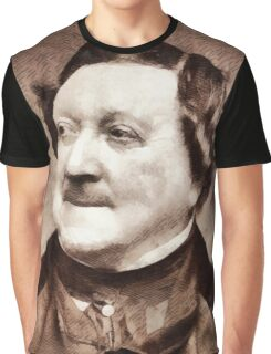 Rossini, Composer Graphic T-Shirt