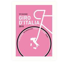 My Giro d'italia Minimal poster Art Print