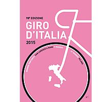 My Giro d'italia Minimal poster Photographic Print
