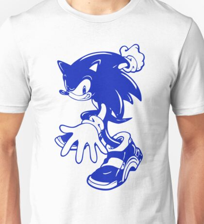 Sonic the Hedgehog [Blue] Unisex T-Shirt
