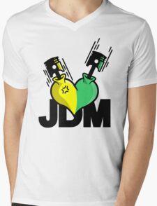 Heart Engine (5) Mens V-Neck T-Shirt
