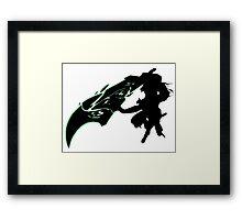 Riven - League of Legends - Black Framed Print