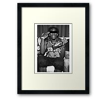 Crazy Boy Framed Print