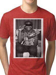Crazy Boy Tri-blend T-Shirt