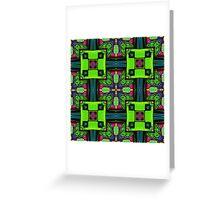 Tribal Ethnic Pattern 02 Greeting Card